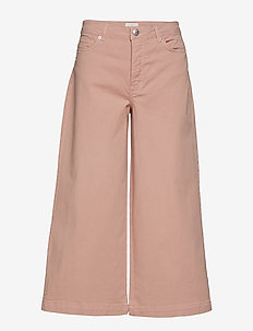Abby 541 High - brede jeans - pale mauve rude
