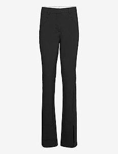 Angelie 285 Long Split - bukser - black glow
