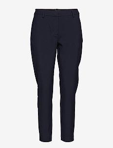 Kylie 285 Crop Flash - spodnie proste - navy glow