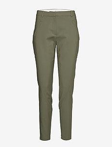 Angelie 238 - spodnie proste - lichen green jeggin