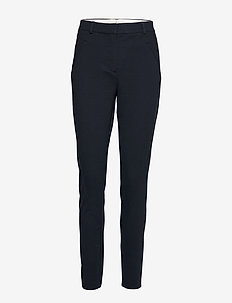 Angelie 469 - slim fit bukser - navy zinni