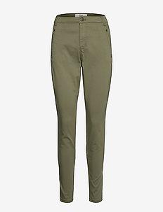Jolie 606 - broeken med skinny fit - lichen green