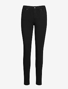 Kate 851 - trousers with skinny legs - black ease