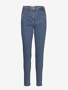 Jolie 595 - dżinsy skinny fit - mid blue recycled