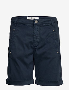 Jolie 402 Ink - chino shorts - ink