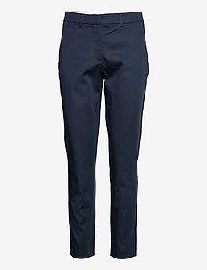 Kylie Crop 531 - pantalons droits - navy blaze