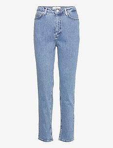 Katelyn Ankle Split 241 - straight jeans - wave blue