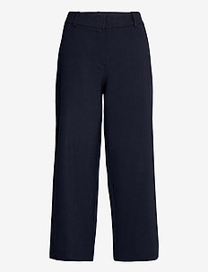 Dena Crop 285 - bukser med brede ben - navy