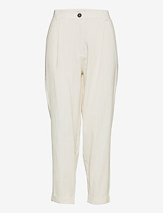 Malou 765 - casual byxor - off-white summer pin