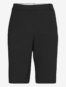 Angelie Straight Split - shorts casual - black