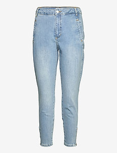 Jolie Zip 241 - slim jeans - chalk blue