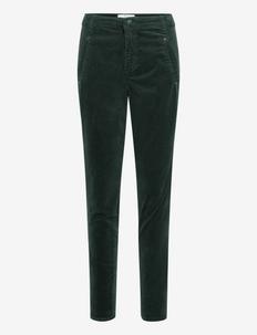 Jolie - skinny jeans - dark forest babycord