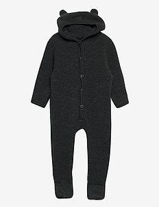 Hush Wool Wholesuit - underlag - dark grey melange