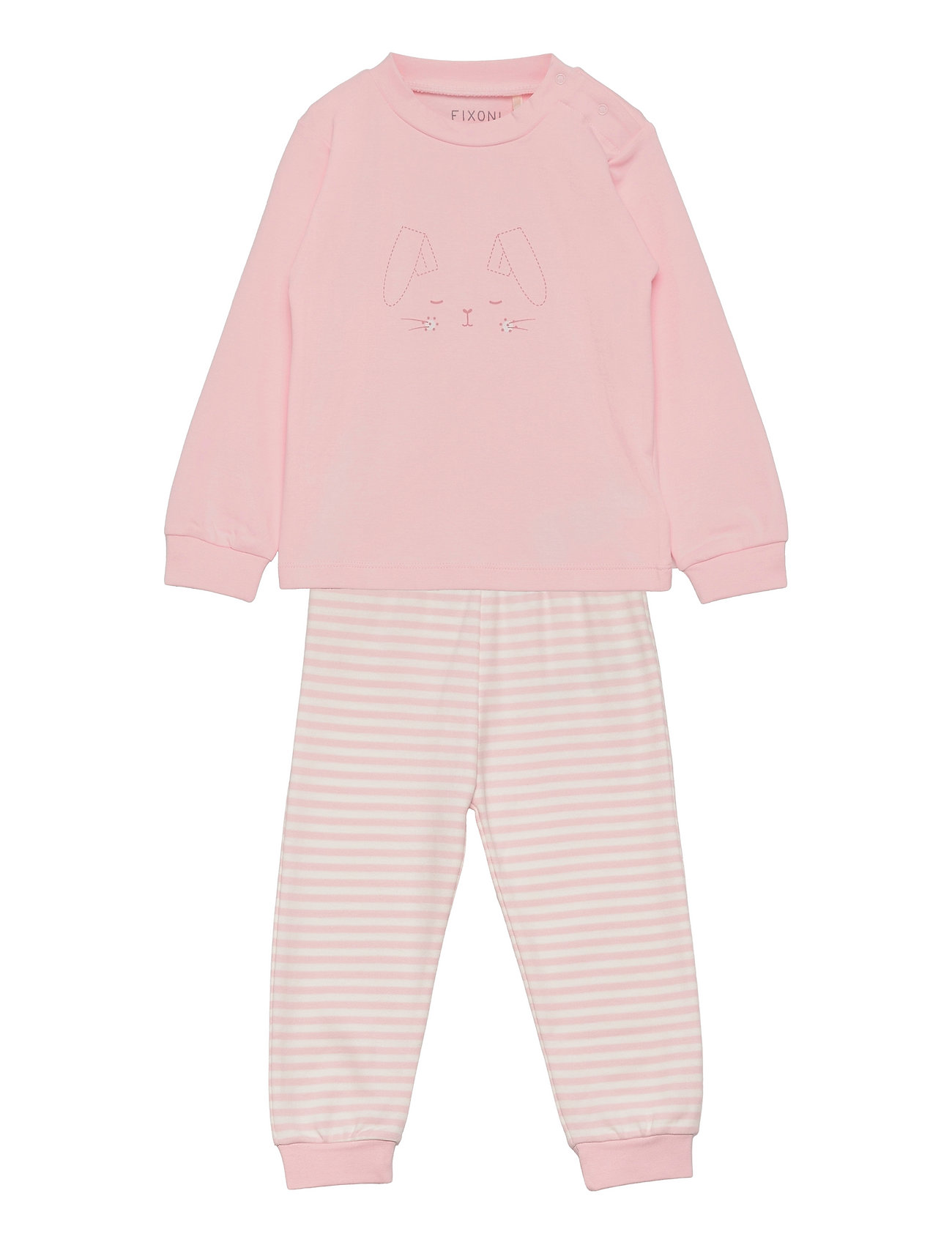 Pyjama Set Pyjamassæt Lyserød Fixoni