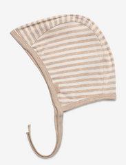 Fixoni - Helmet - babyhuer - sand melange - 1