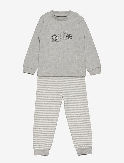 Pyjama Set - sets - grey melange
