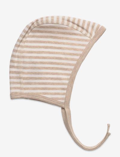 Helmet - babymützen - sand melange