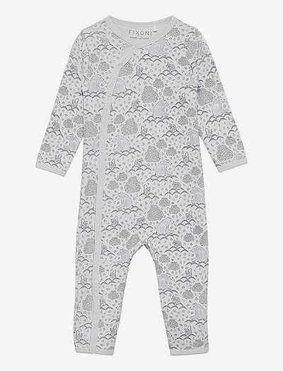 Nightsuit w/o Feet - schlafoveralls - baby blue