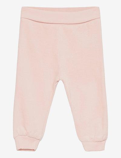 Pants Velour - jogginghosen - mauve morn