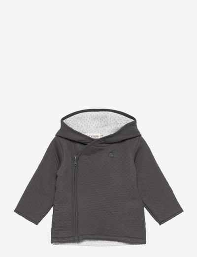 Jacket Quilted - thermojacke - ebony
