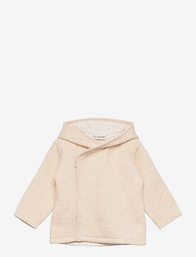 Jacket Quilted - thermojacke - sand melange