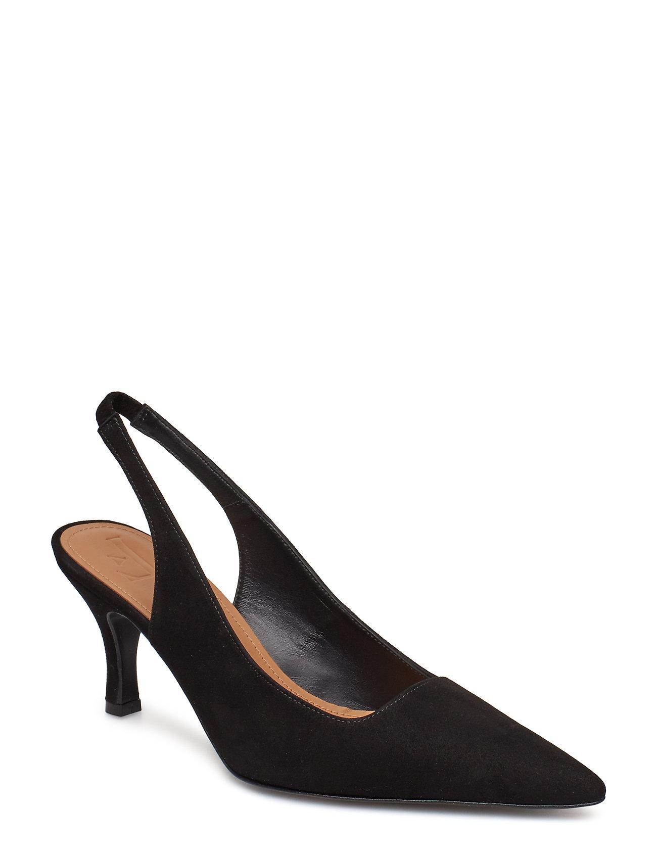Flattered Franchesca Black Suede - BLACK