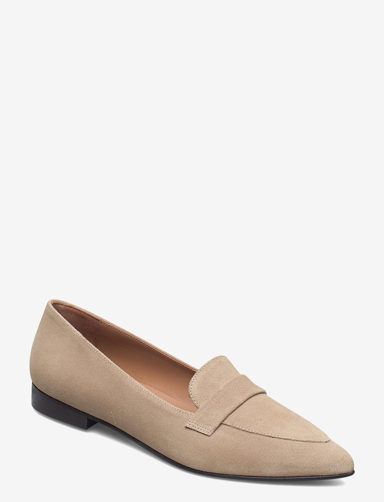 Flattered - Alexandra Sand Suede - instappers - sand - 0