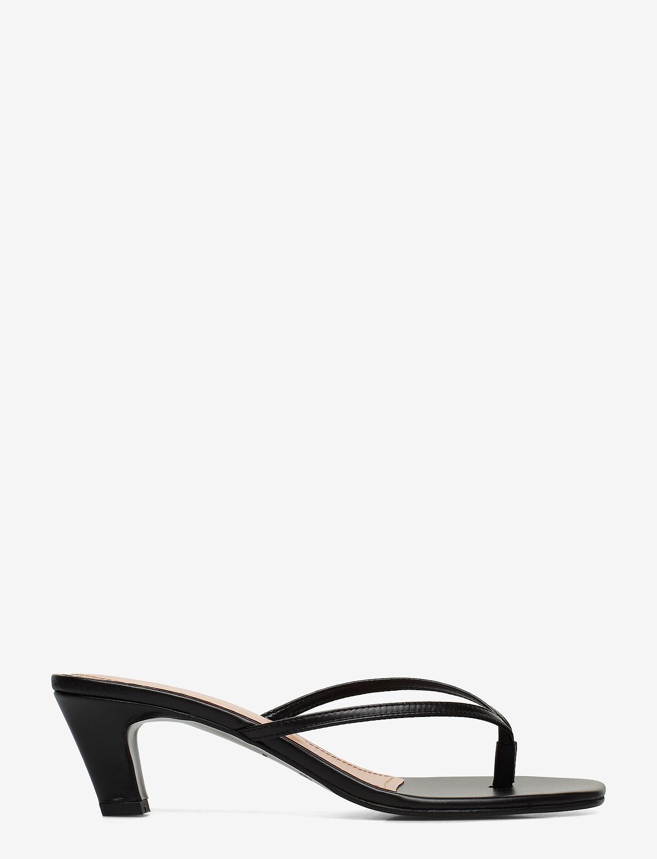 Flattered - Erin Cognac Nappa - mules & slipins - black - 1