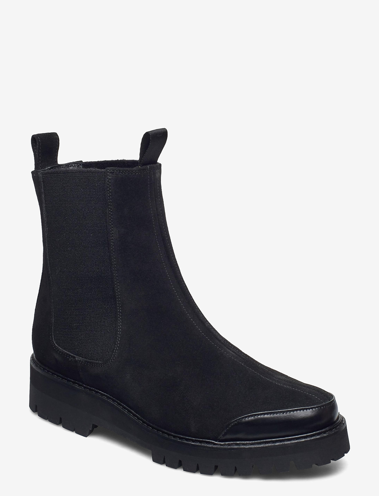 Flattered - Sally Suede - chelsea boots - black - 0
