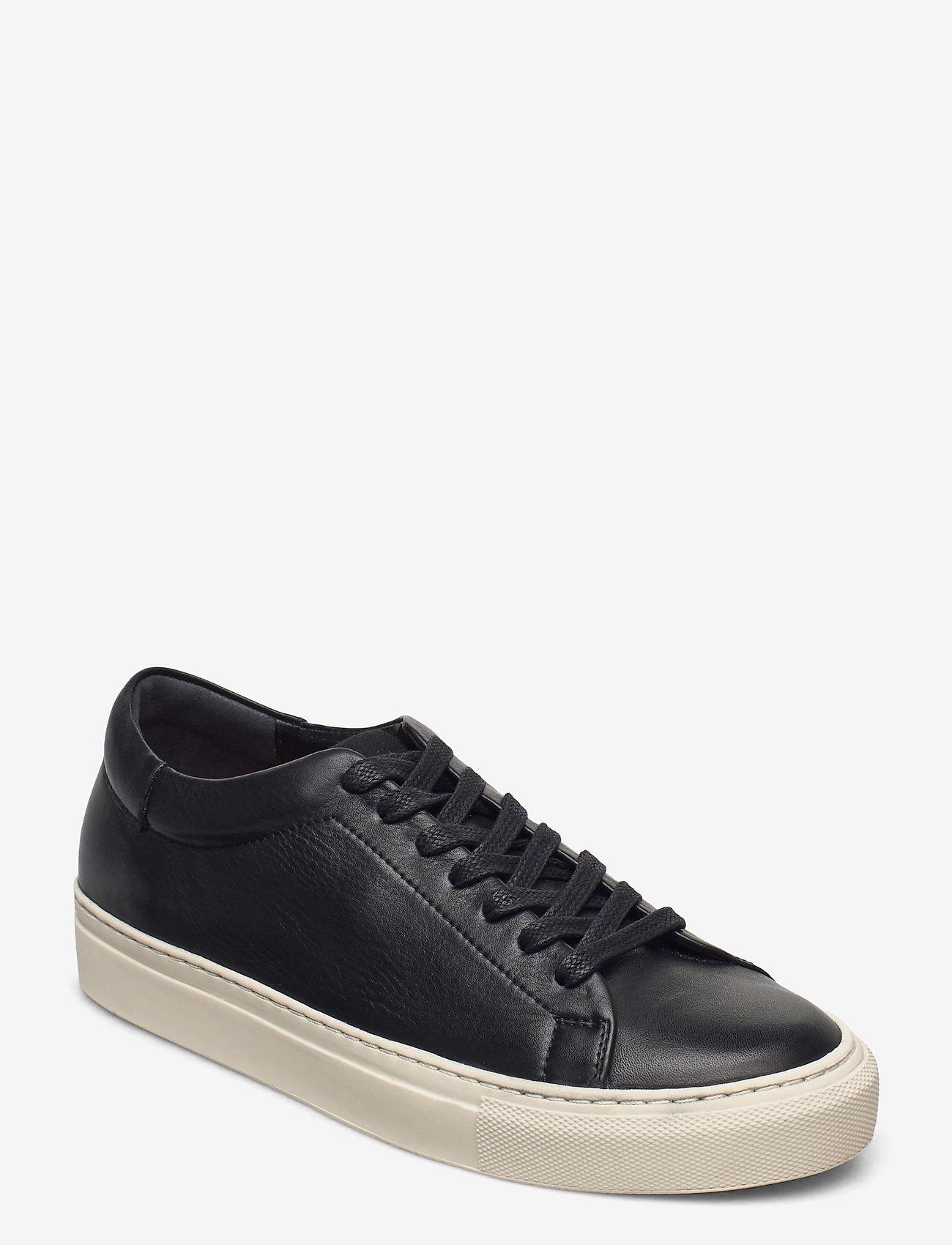 Flattered - Stockholm Leather - sneakers med lav ankel - black - 1