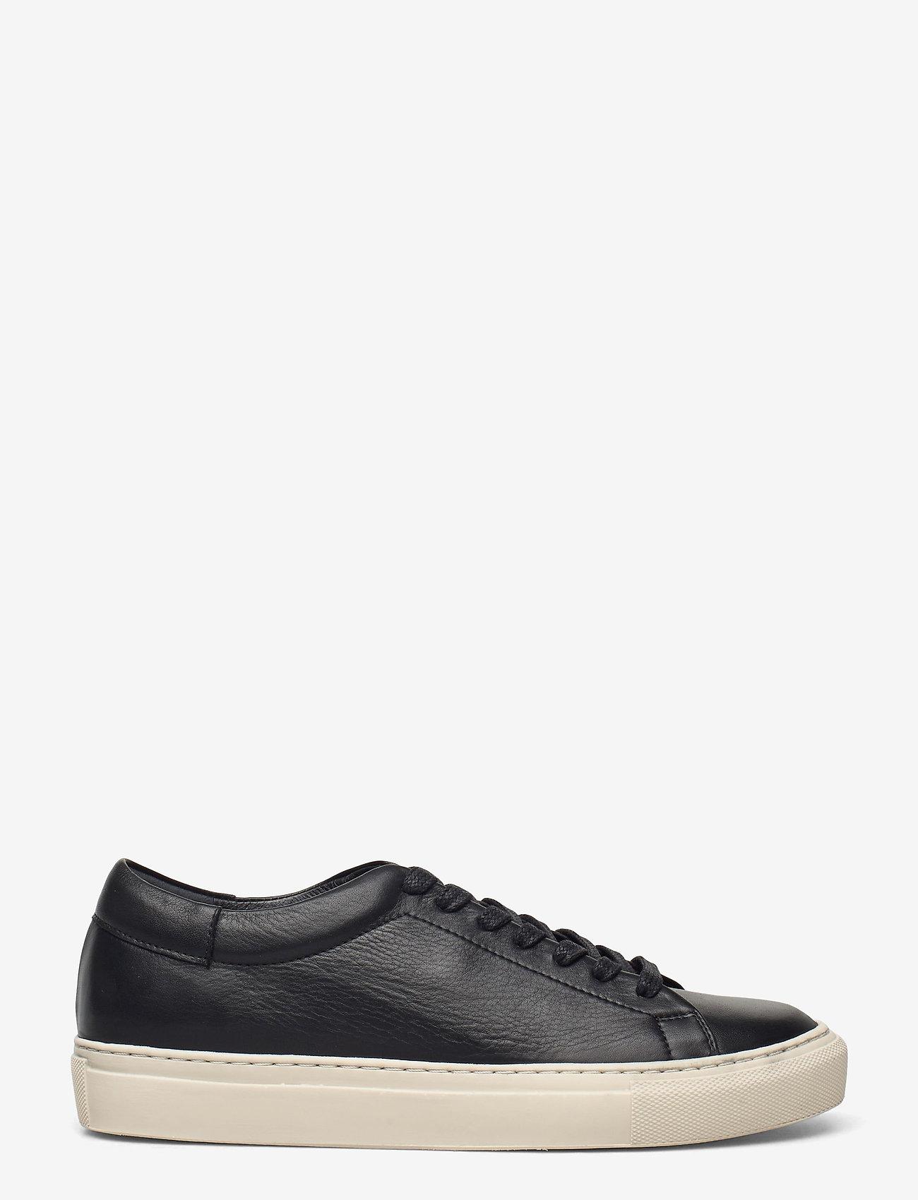 Flattered - Stockholm Leather - sneakers med lav ankel - black - 0