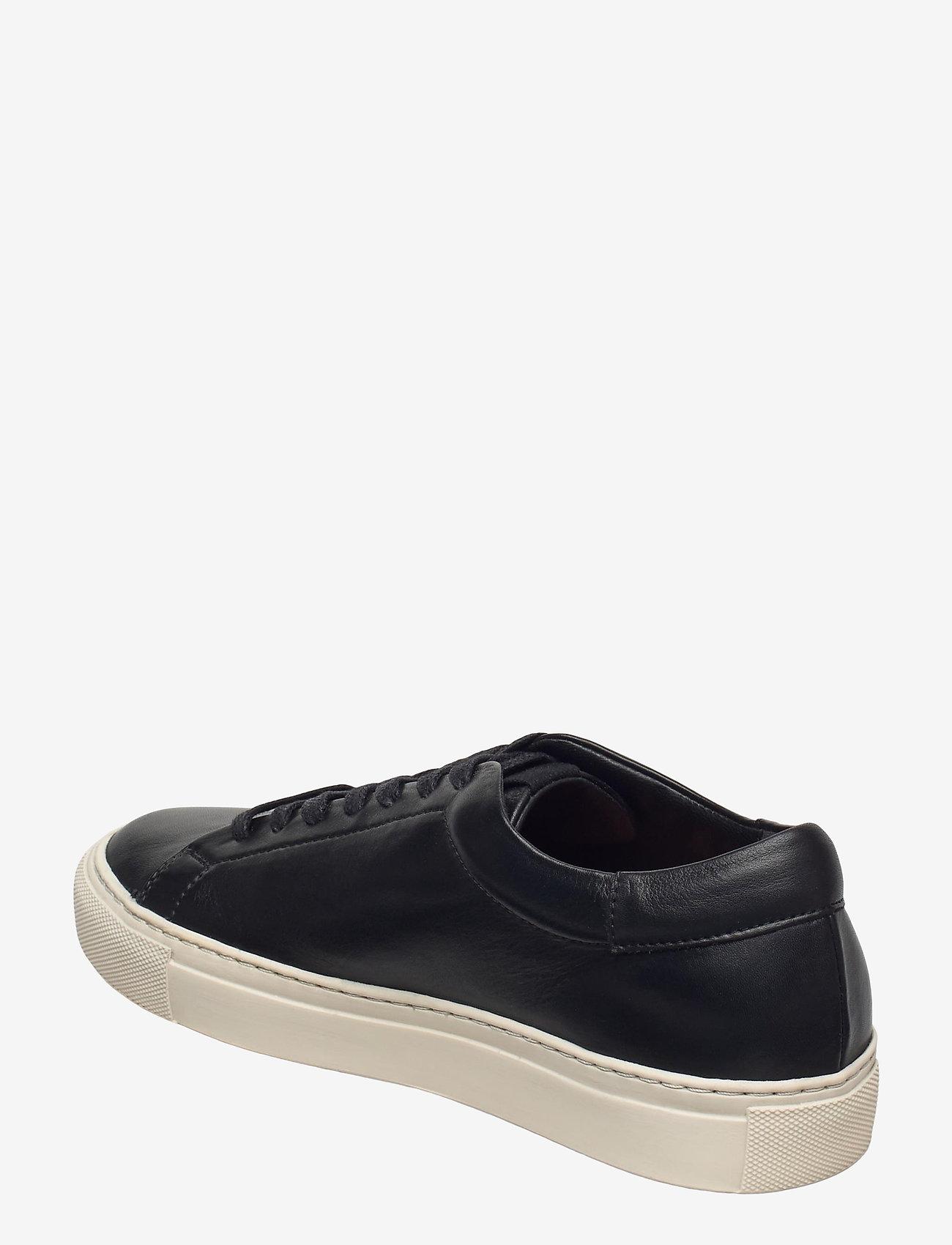 Flattered - Stockholm Leather - sneakers med lav ankel - black - 2