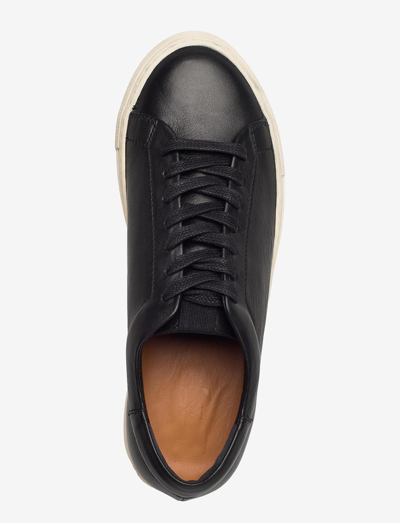 Flattered - Stockholm Leather - sneakers med lav ankel - black - 3