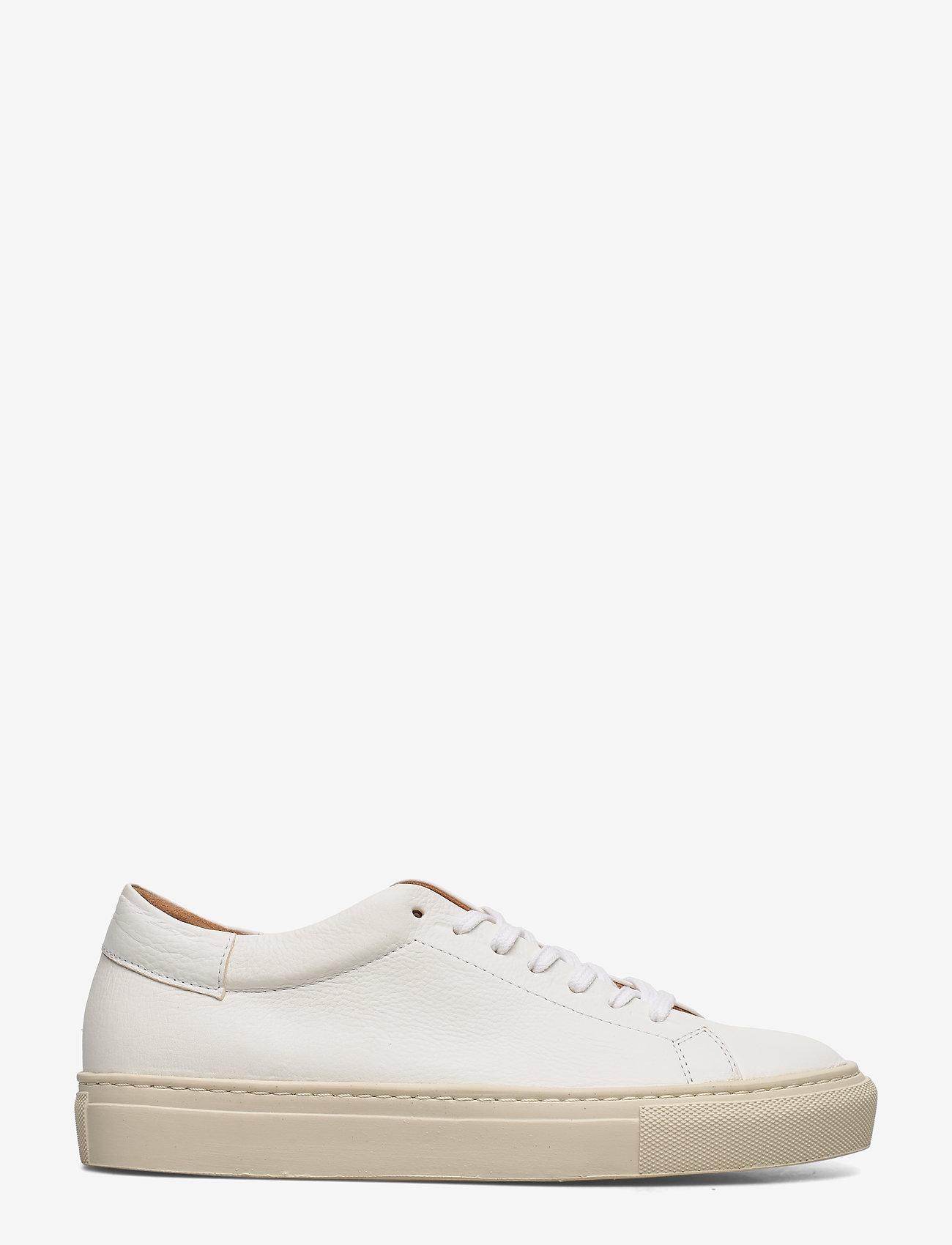 Flattered Stockholm White Leather Sneaker- Baskets 3f5ibpFd fe4uA Uzpb3iak