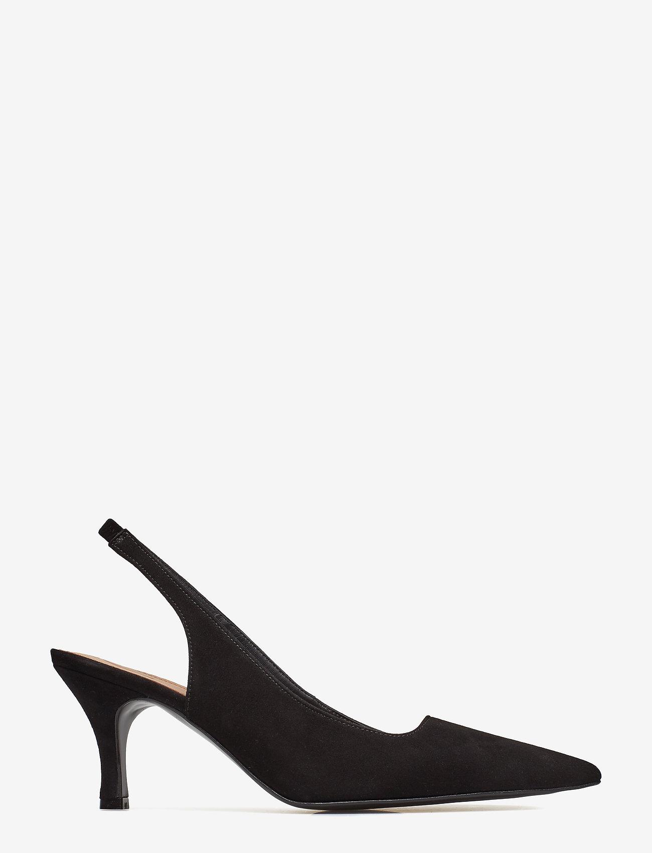 Flattered  Franchesca Black Suede - Absatzschuhe