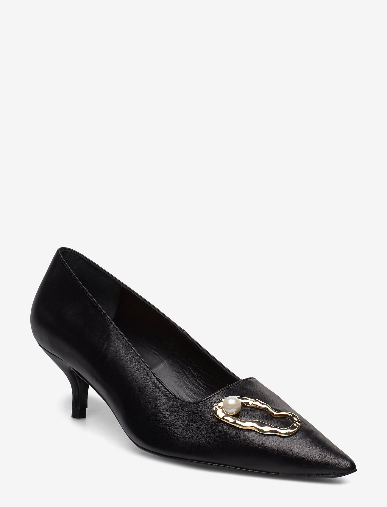 Flattered - Hailey Nappa / Oyster Pump - classic pumps - black