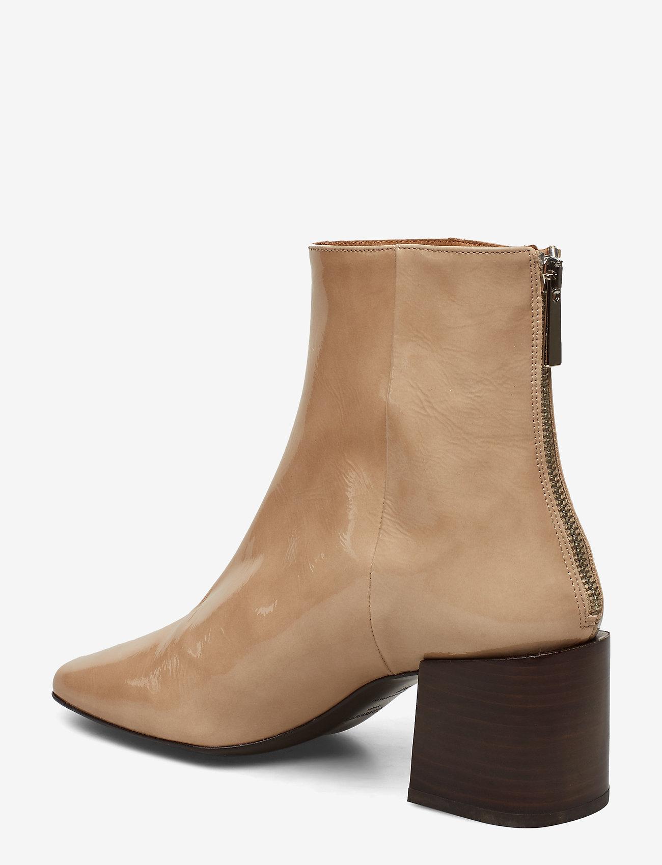 Flattered Inga Black Leather - Stövlar Creme