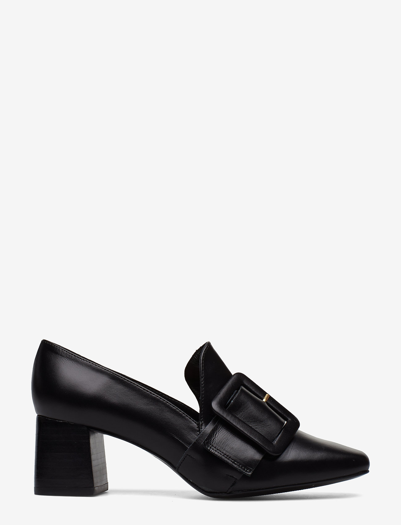 Flattered - Lily Leather Pump - classic pumps - black nappa