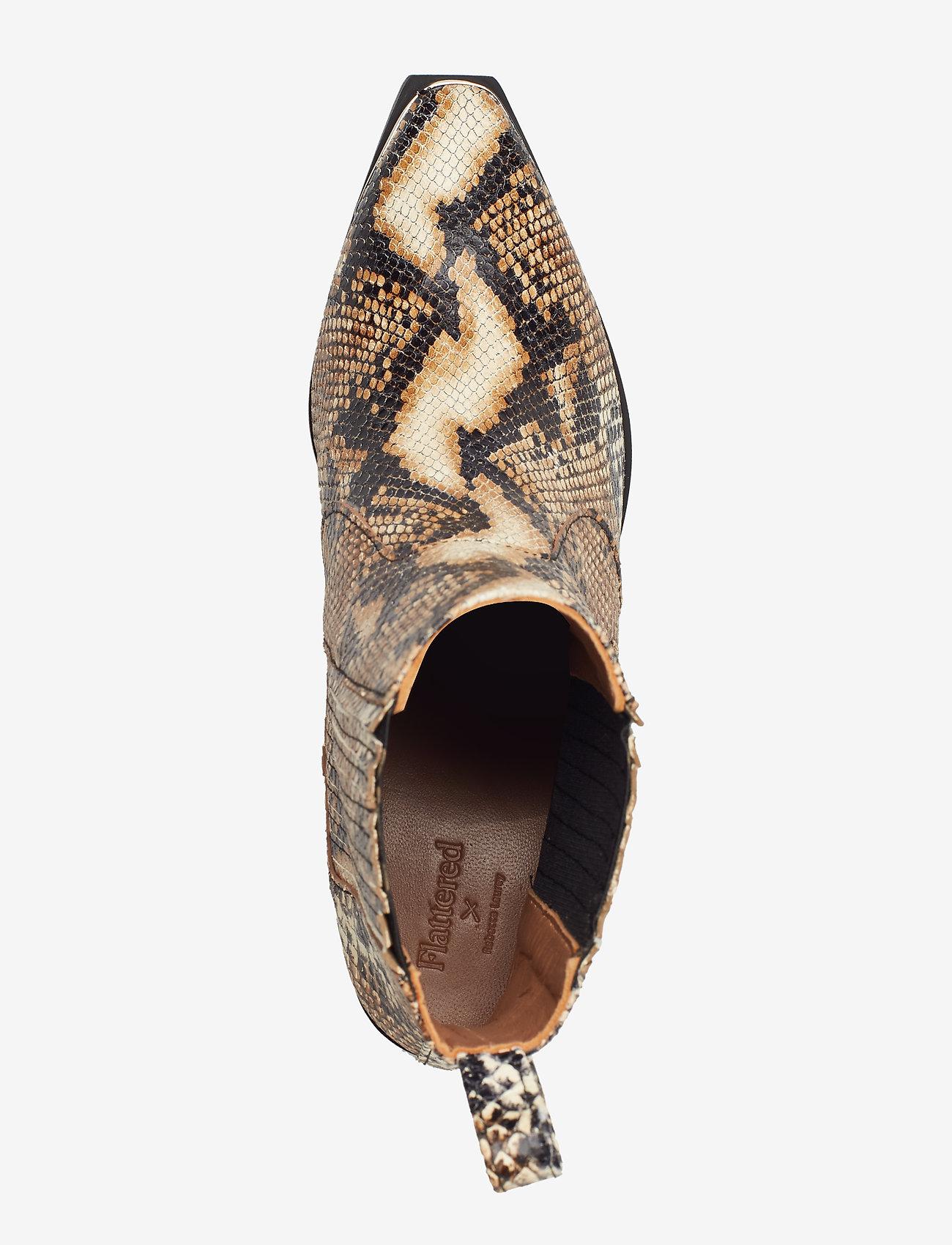 Särskild rabattRebecca Snake Nappa Boot Sand 1797 Flattered V9USP odxEj