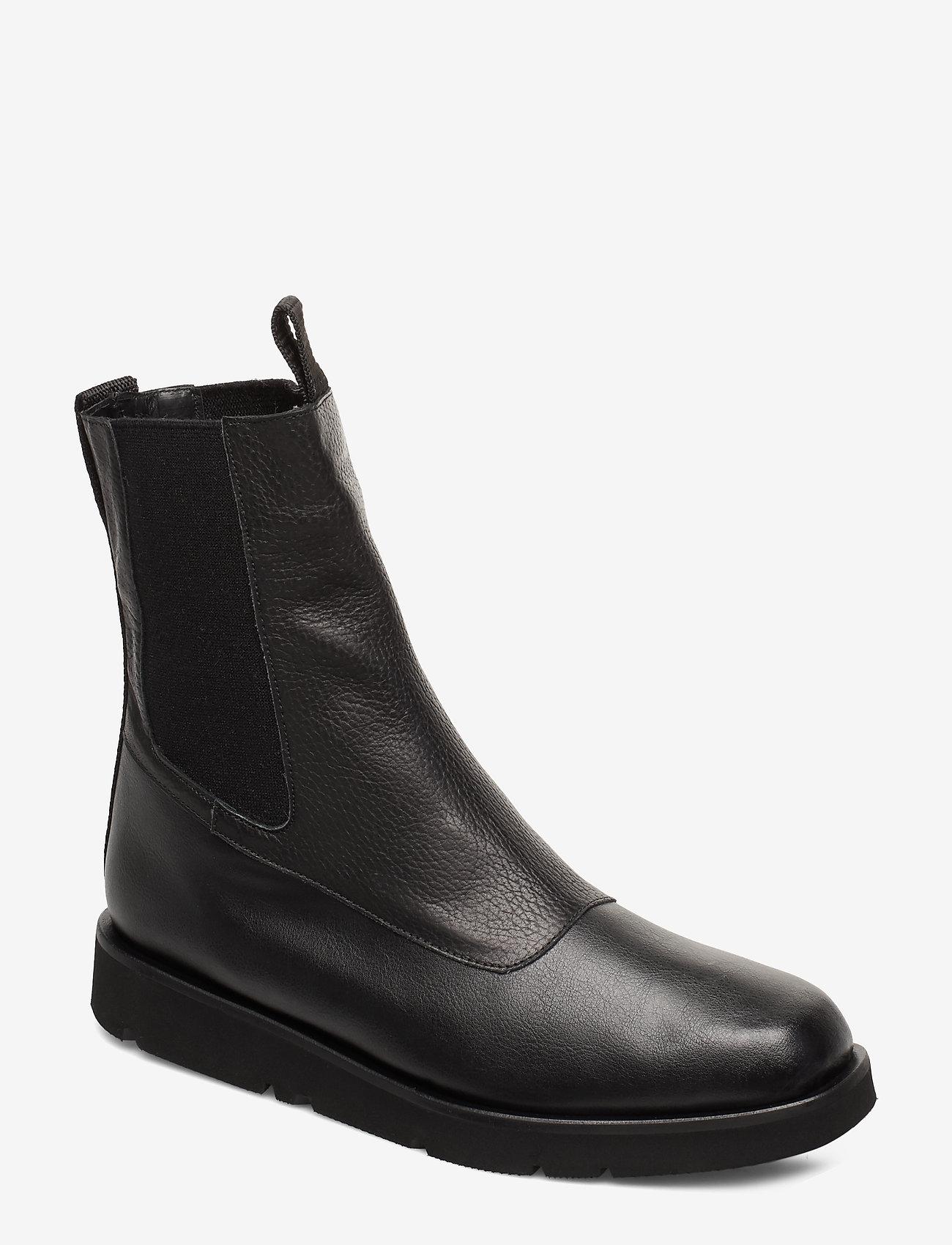 Flattered - Ursula Nappa Boot - talon bas - black