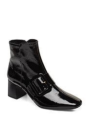 Mila Patent Nappa Boot - BLACK