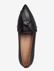 Flattered - Ally Black Grained Leather - mokasyny - black - 3