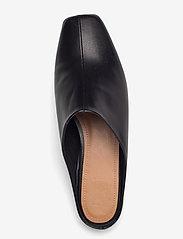 Flattered - Noa Black Leather - mules & slipins - black - 3