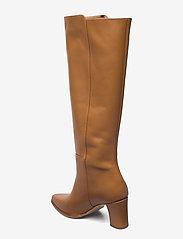 Flattered - Tess Cognac Leather - lange laarzen - cognac - 2