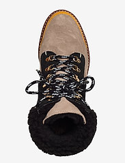 Flattered - Selma Pecan Reptile Leather / Creme Suede / Honey Leather - flat ankle boots - multicolor - 3