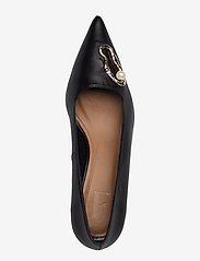 Flattered - Hailey Nappa / Oyster Pump - classic pumps - black - 4