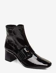 Flattered - Mila Patent Nappa Boot - talon haut - black - 0