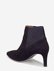 Flattered - Sasha Black Suede - ankle boots with heel - black - 2