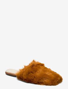 Celina Rust Fur - ORANGE