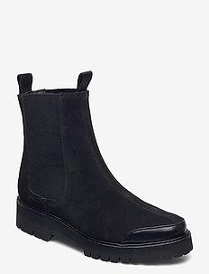Sally Suede - schoenen - black